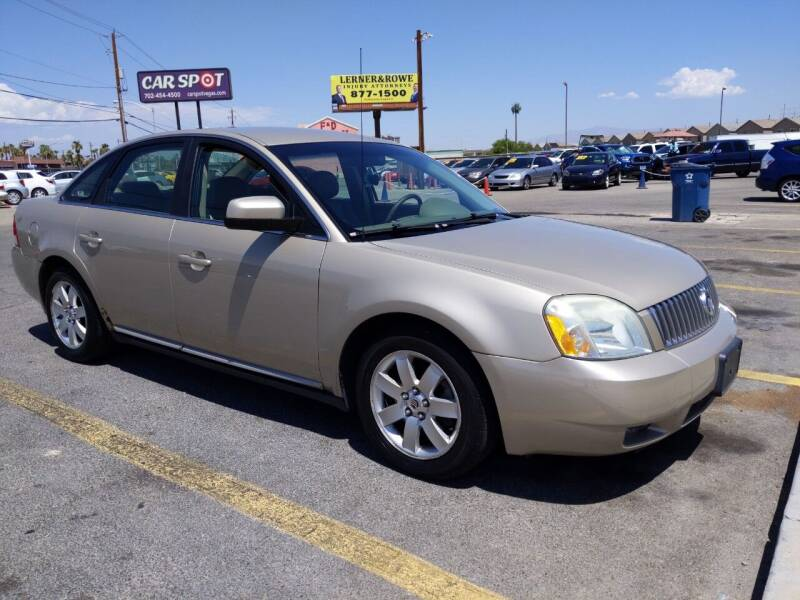 2006 Mercury Montego for sale at Car Spot in Las Vegas NV