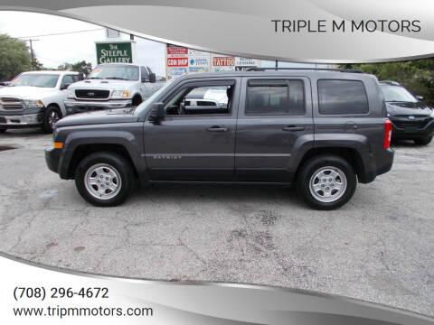 2015 Jeep Patriot for sale at Triple M Motors in Saint John IN