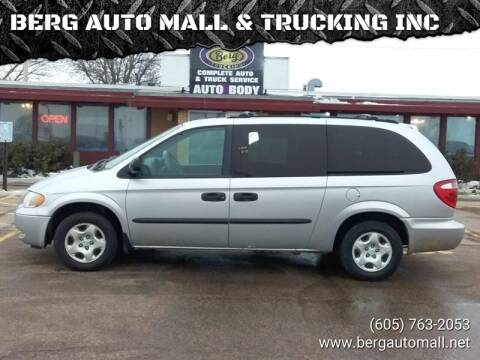 2003 Dodge Grand Caravan for sale at BERG AUTO MALL & TRUCKING INC in Beresford SD