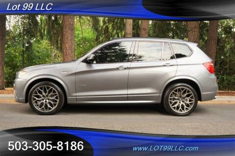 2011 BMW X3 for sale at LOT 99 LLC in Milwaukie OR