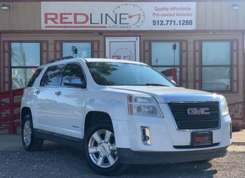 2013 GMC Terrain for sale at REDLINE AUTO SALES LLC in Cedar Creek TX