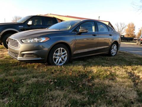 2014 Ford Fusion for sale at KW TRUCKING OF KS in Saint Paul KS