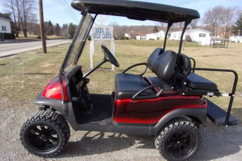 2016 Club Car Lifted Golf Cart Precedent 4 Passenger 48 VOLT for sale at Area 31 Golf Carts - Electric 4 Passenger in Acme PA