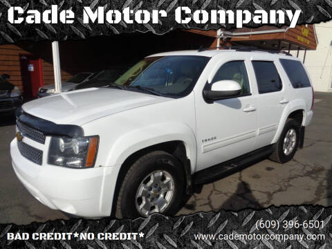 2010 Chevrolet Tahoe for sale at Cade Motor Company in Lawrenceville NJ