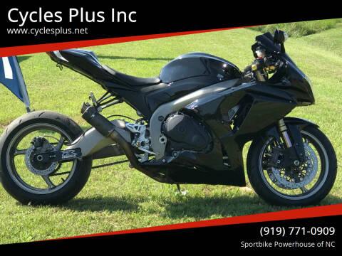 2011 Suzuki GSXR 1000 for sale at Cycles Plus Inc in Garner NC
