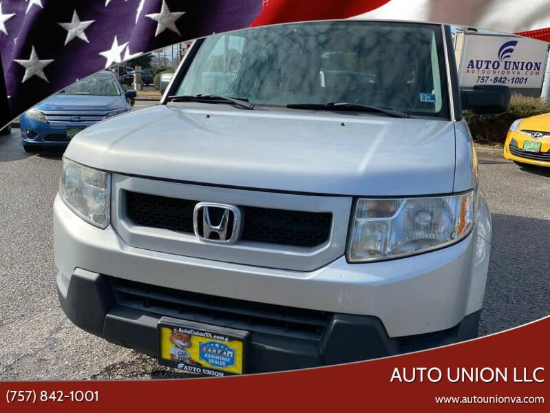 2009 Honda Element for sale at Auto Union LLC in Virginia Beach VA