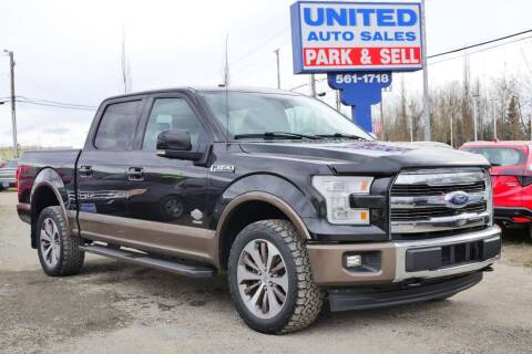 2015 Ford F-150 for sale at United Auto Sales in Anchorage AK