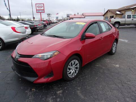 2019 Toyota Corolla for sale at DAVE KNAPP USED CARS in Lapeer MI
