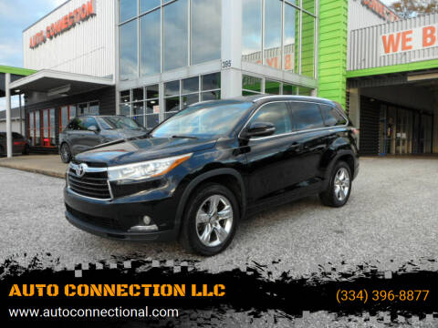 2015 Toyota Highlander for sale at AUTO CONNECTION LLC in Montgomery AL