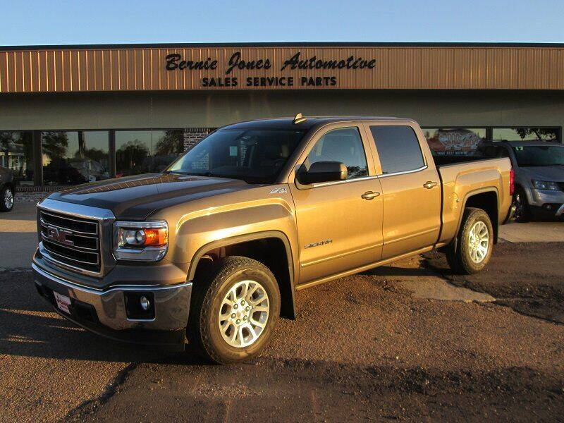 2015 GMC Sierra 1500 for sale at Bernie Jones Auto in Cambridge NE
