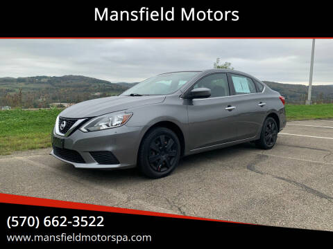 2016 Nissan Sentra for sale at Mansfield Motors in Mansfield PA