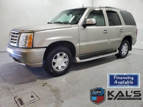 2002 Cadillac Escalade for sale at Kal's Kars - SUVS in Wadena MN
