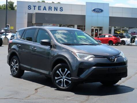 2018 Toyota RAV4 for sale at Stearns Ford in Burlington NC