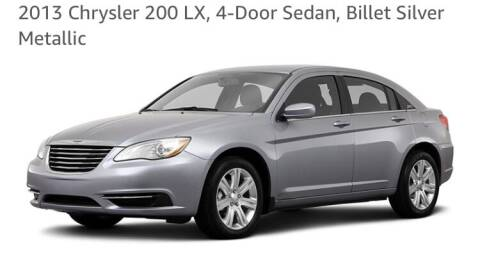 2013 Chrysler 200 for sale at Michaels Used Cars Inc. in East Lansdowne PA