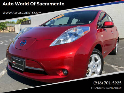 2011 Nissan LEAF for sale at Auto World of Sacramento Stockton Blvd in Sacramento CA
