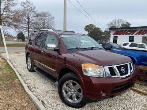 2010 Nissan Armada for sale at Beach Auto Brokers in Norfolk VA