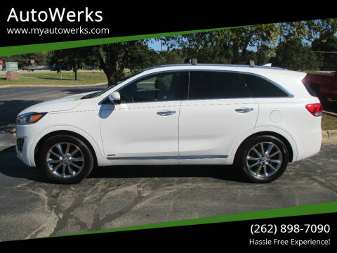2018 Kia Sorento for sale at AutoWerks in Sturtevant WI
