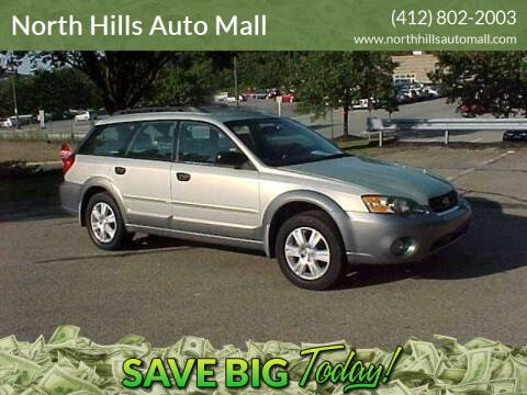 2005 Subaru Outback for sale at North Hills Auto Mall in Pittsburgh PA