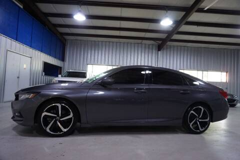 2018 Honda Accord for sale at SOUTHWEST AUTO CENTER INC in Houston TX