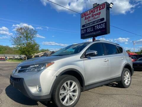 2013 Toyota RAV4 for sale at Unlimited Auto Group in West Chester OH