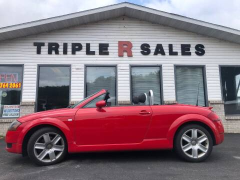 2003 Audi TT for sale at Triple R Sales in Lake City MN