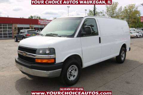 2015 Chevrolet Express Cargo for sale at Your Choice Autos - Waukegan in Waukegan IL