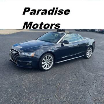 2016 Audi A5 for sale at Paradise Motor Sports LLC in Lexington KY