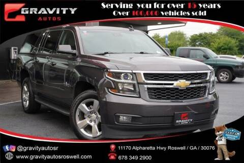 2016 Chevrolet Suburban for sale at Gravity Autos Roswell in Roswell GA