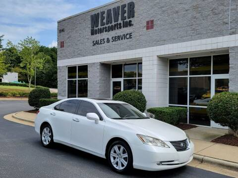 2007 Lexus ES 350 for sale at Weaver Motorsports Inc in Cary NC