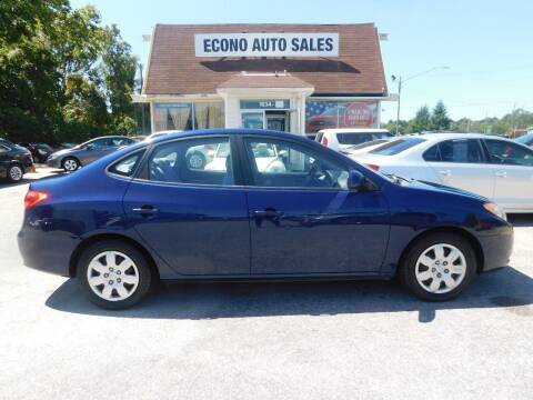 2008 Hyundai Elantra for sale at Econo Auto Sales Inc in Raleigh NC