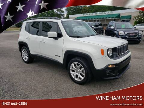 2018 Jeep Renegade for sale at Windham Motors in Florence SC