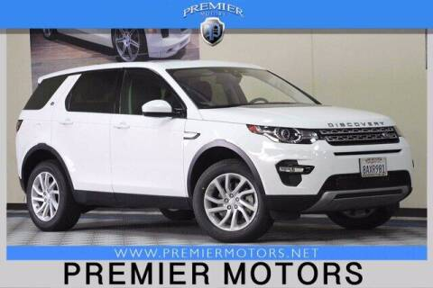 2017 Land Rover Discovery Sport for sale at Premier Motors in Hayward CA
