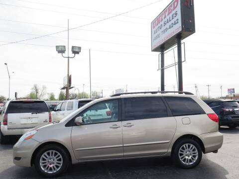 2008 Toyota Sienna for sale at United Auto Sales in Oklahoma City OK