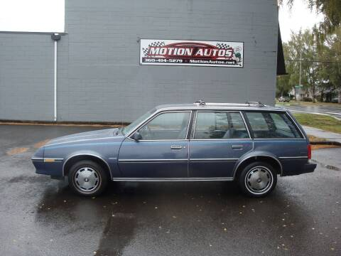 1983 Buick Skyhawk for sale at Motion Autos in Longview WA