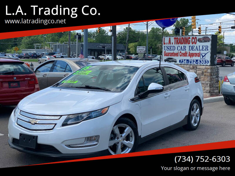 2015 Chevrolet Volt for sale at L.A. Trading Co. Woodhaven - L.A. Trading Co. Detroit in Detroit MI