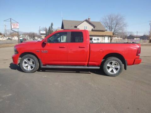 2015 RAM Ram Pickup 1500 for sale at JIM WOESTE AUTO SALES & SVC in Long Prairie MN