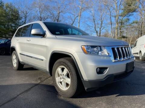 2013 Jeep Grand Cherokee for sale at SOUTH SHORE AUTO GALLERY, INC. in Abington MA
