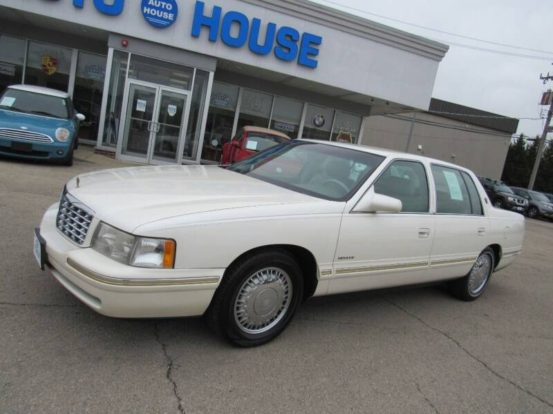 1999 Cadillac DeVille for sale at Auto House Motors in Downers Grove IL