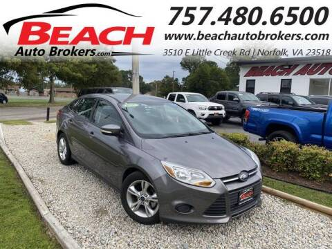 2014 Ford Focus for sale at Beach Auto Brokers in Norfolk VA