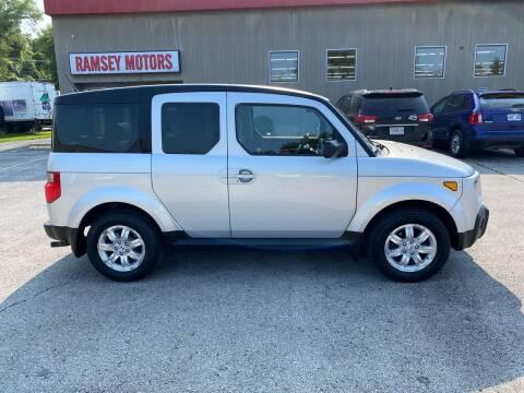 2008 Honda Element for sale at Ramsey Motors in Riverside MO