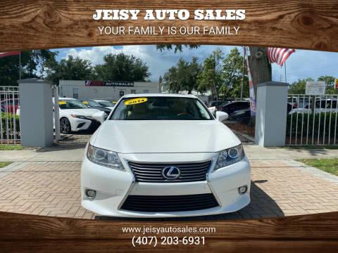 2014 Lexus ES 300h for sale at JEISY AUTO SALES in Orlando FL