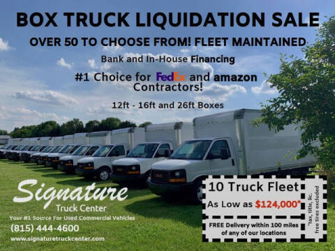 2012 Ford E-350 for sale at Signature Truck Center in Crystal Lake IL