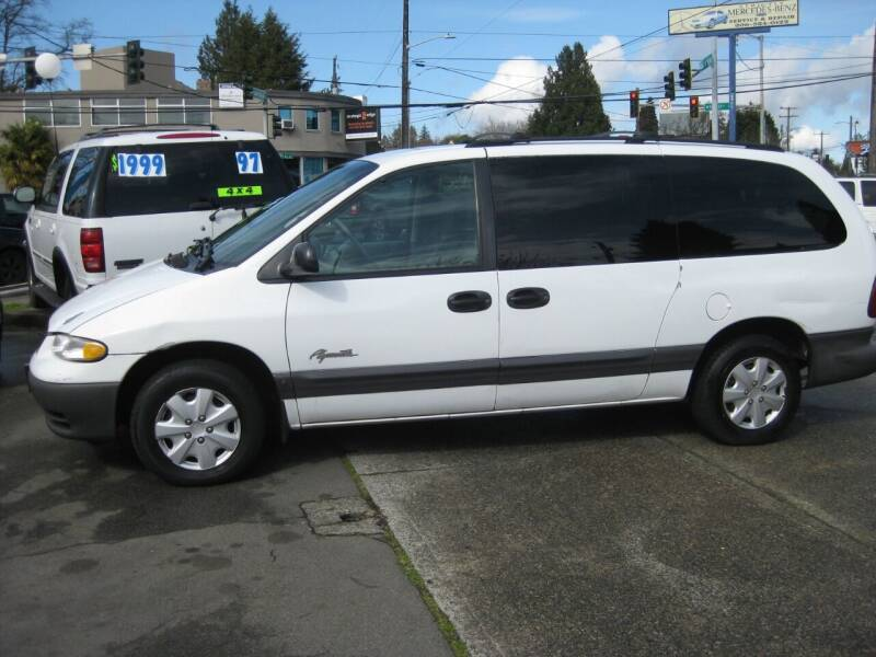 1997 Plymouth Grand Voyager for sale at UNIVERSITY MOTORSPORTS in Seattle WA