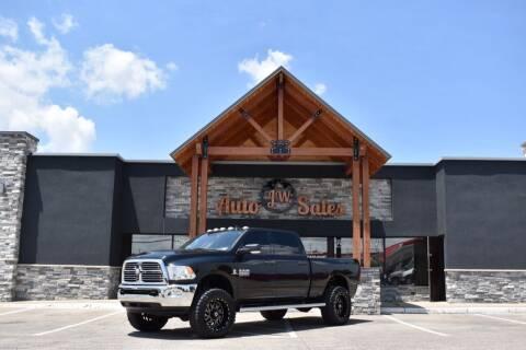 2016 RAM Ram Pickup 2500 for sale at JW Auto Sales LLC in Harrisonburg VA