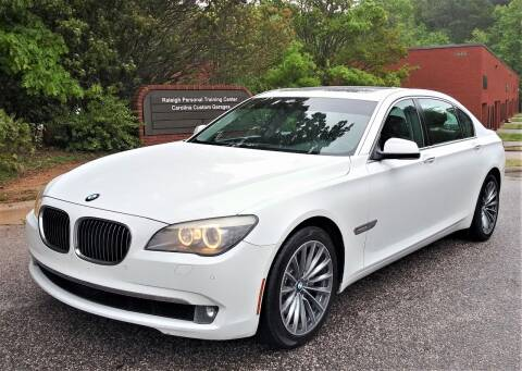 2011 BMW 7 Series for sale at Weaver Motorsports Inc in Cary NC