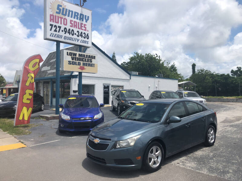 2012 Chevrolet Cruze for sale at Sunray Auto Sales Inc. in Holiday FL