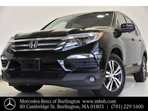 2018 Honda Pilot for sale at Mercedes Benz of Burlington in Burlington MA