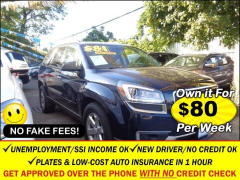 2016 GMC Acadia for sale at AUTOFYND in Elmont NY
