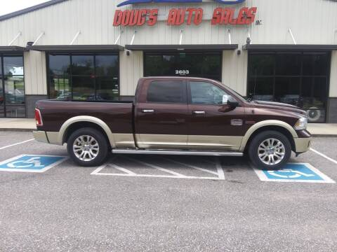 2015 RAM Ram Pickup 1500 for sale at DOUG'S AUTO SALES INC in Pleasant View TN