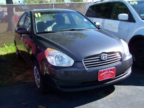 2011 Hyundai Accent for sale at Lloyds Auto Sales & SVC in Sanford ME